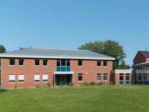 Das Ganztagsschulgebäude