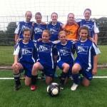 NIGE- Mädchenmannschaft beim Werder-Cup 2013