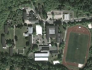 Luftbild des NIGE