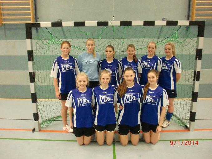 NIGE-Damen-Handballteam