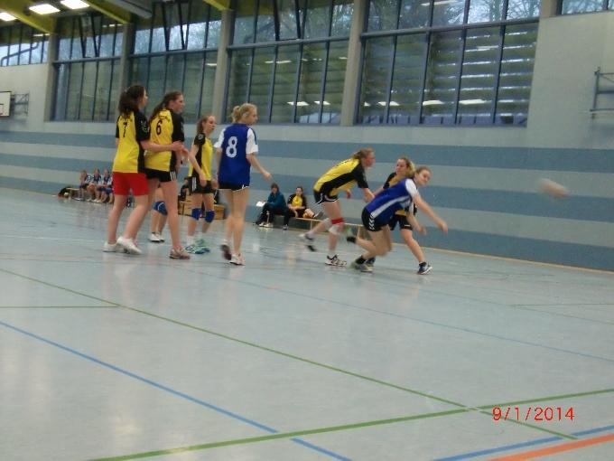Handball-Oberstufen-Turnier der Damen am NIGE 2014