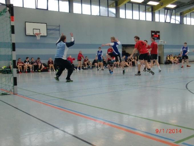 Handball-Oberstufen-Turnier der Herren am NIGE 2014