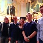 Tontechnik-AG zu Besuch bei den Großen (Bruckners 7. in Hamburg)