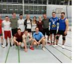 Internatler gegen Lehrer im Volleyball  1:3