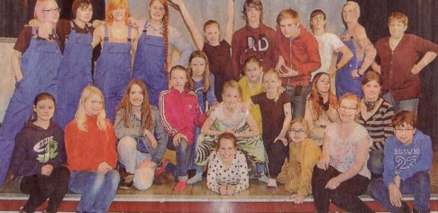 """Die Musical-AG präsentiert: """"Lieder im Kopf"""""""