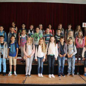 Einschulung 2016 der Klassen 5