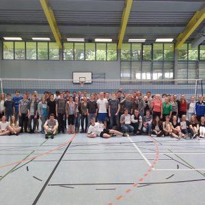 Volleyballturnier der 10. Klassen