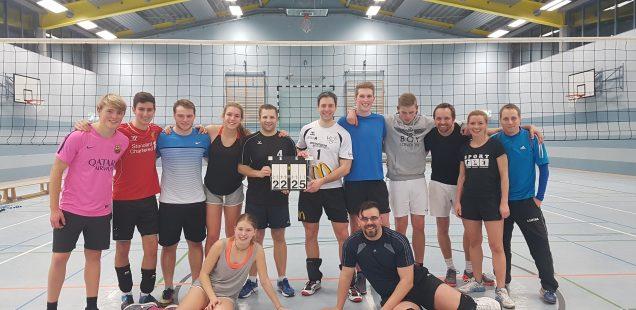 Volleyballturnier Internatler gegen Lehrer 2017