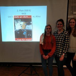 Nigeschülerinnen erringen 2.Platz bei Verkehrssicherheitskommission